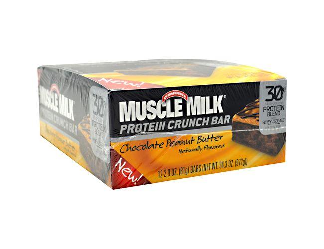 Muscle Milk Protein Crunch Bar 12/Box
