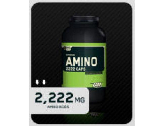 Optimum Nutrition Superior Amino 2222 Caps 150 caps