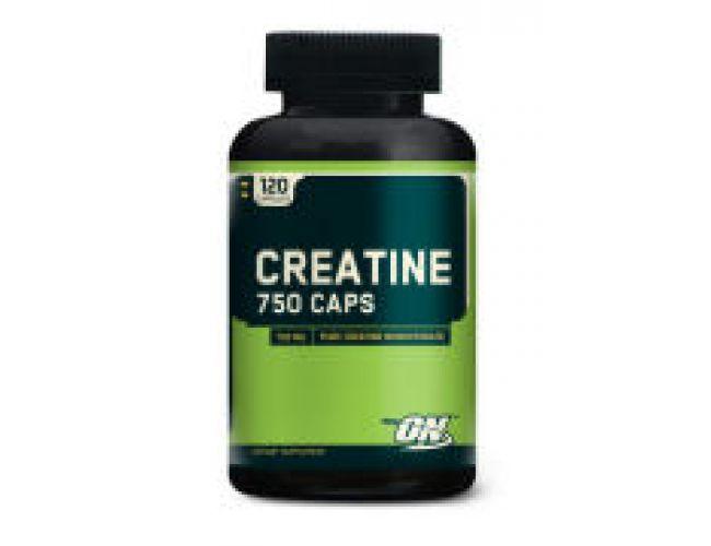 Optimum Nutrition Creatine 750mg 120 Caps
