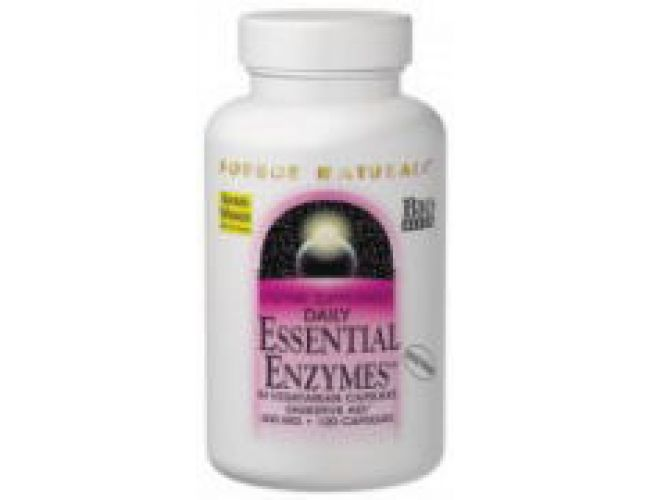 Source Naturals Essential Enzymes 120 Capsules