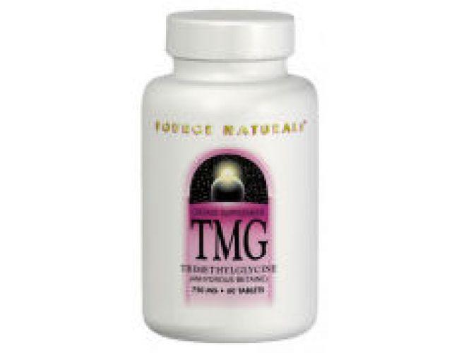 Source Naturals TMG (Trimethylglycine) 750mg 60 Tablets