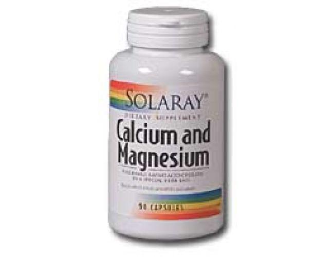 Solaray Calcium and Magnesium 1000mg/500mg 180 caps