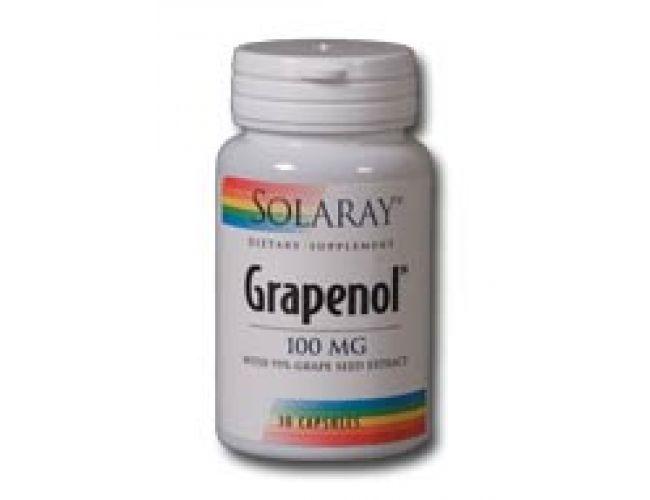 Solaray Grapenol 100mg 30 Caps