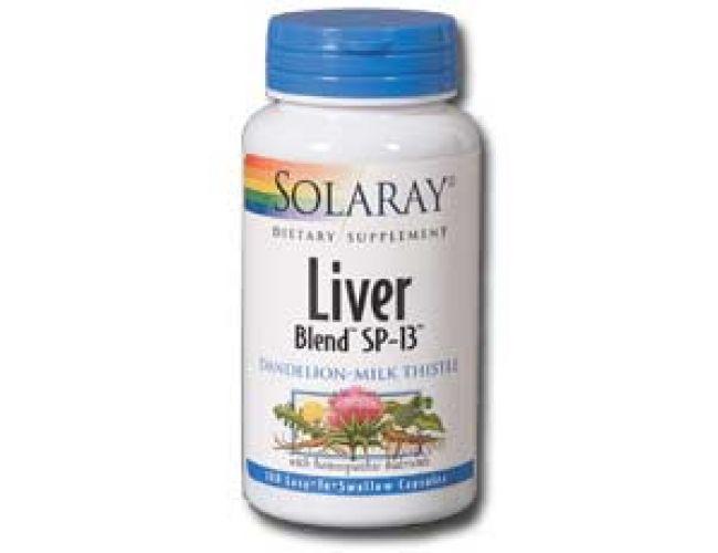 Solaray SP-13 Liver Blend 100 caps