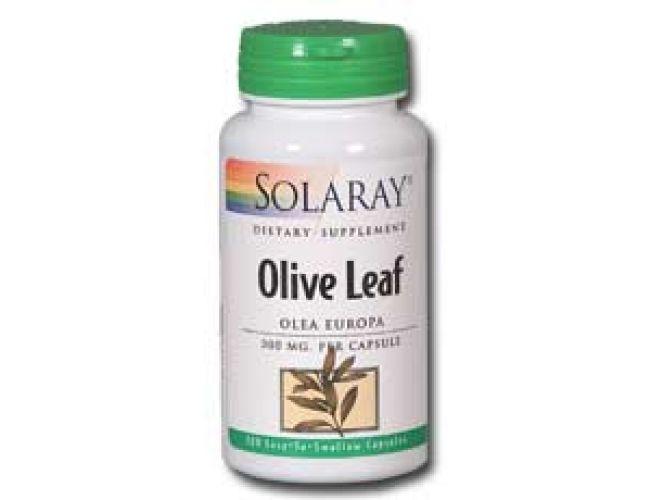 Solaray Olive Leaf (Olea europaea) 300mg 100 caps