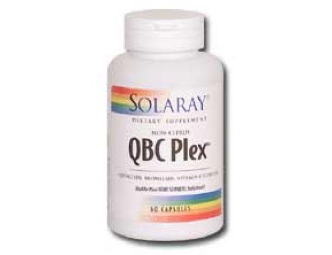Solaray QBC Plex Quercetin, Bromelain, Vitamin C Complex 60 Caps