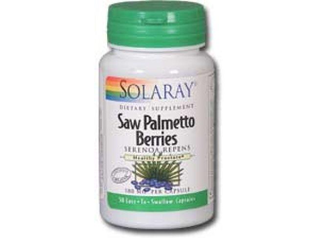 Solaray Saw Palmetto Berries 580mg 100 caps