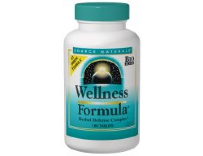 Source Naturals Wellness Formula Herbal Defense Complex 180 Tablets