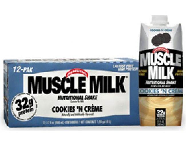 CytoSport Muscle Milk RTD 17 oz 12/Case