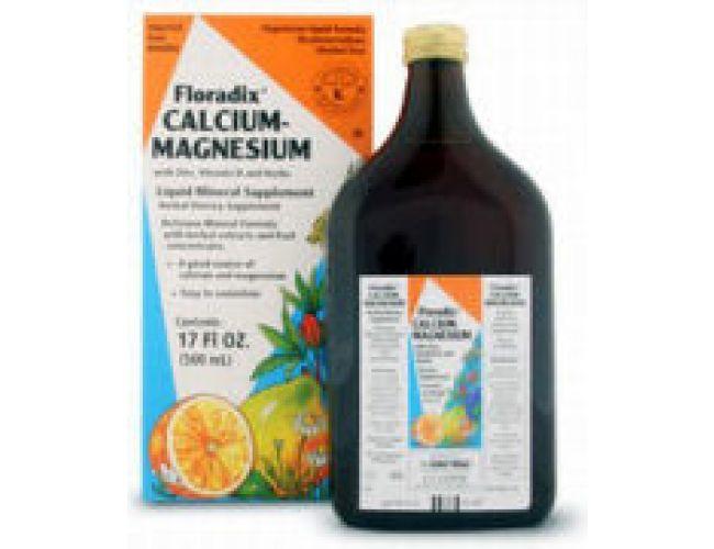 Flora (Udo's Choice) Floradix Calcium-Magnesium w/Zinc, Vitamin D and Herbs 8.5 Fl Oz