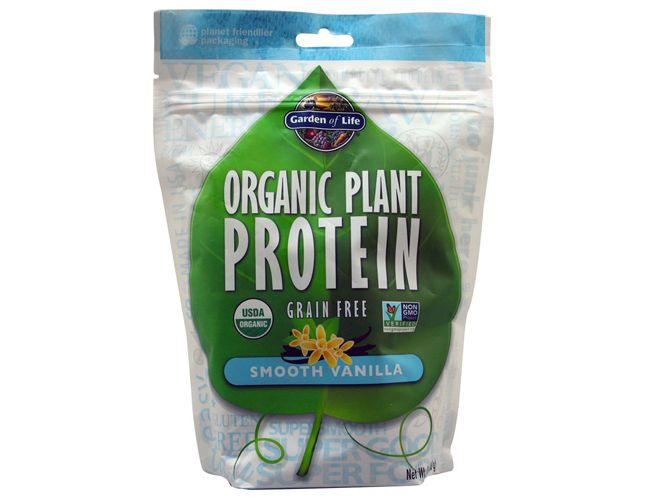 Garden of Life Organic Plant Protein 10 Serve
