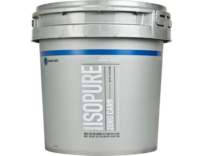 Nature's Best Isopure Zero Carb 7.5 Lbs