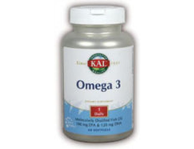 Kal Omega-3 Fish Oil 60 Softgels