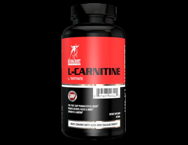 Betancourt Nutrition L-Carnitine L-Tartrate  60 Capsules - 1000 mg per serving