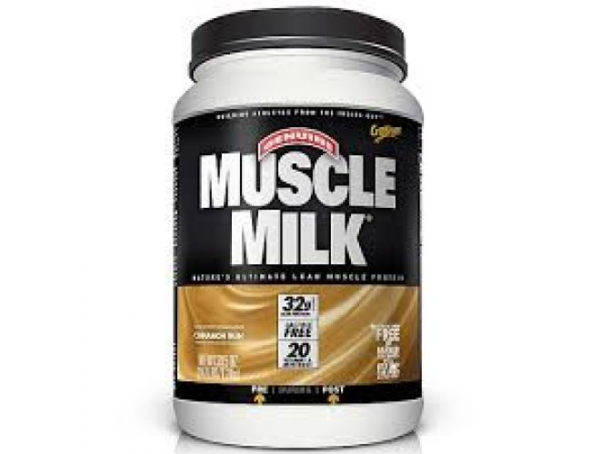 Muscle Milk Cinammon Bun 2.47 Lbs