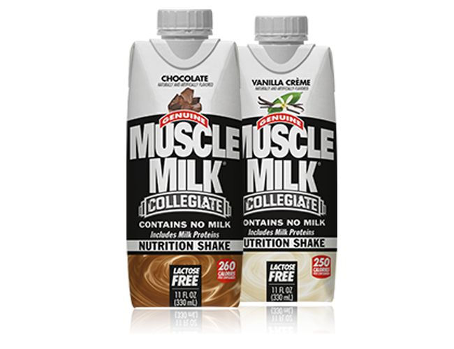 Collegiate Muscle Milk RTD | CytoSport