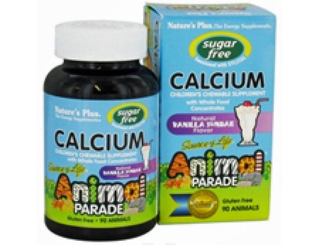 Nature's Plus Animal Parade Calcium Vanilla 90 Chews