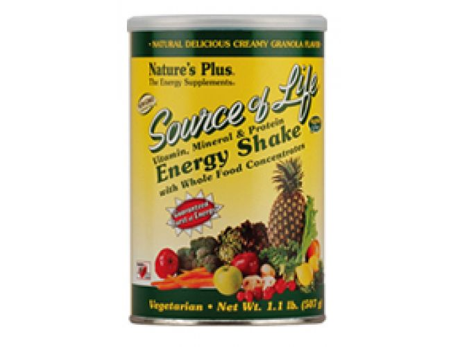 Nature's Plus Source of Life Energy Shake 1.1 lbs