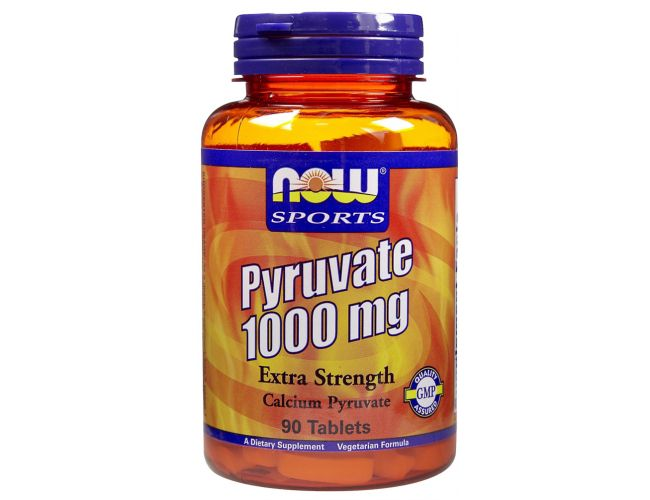Now Foods Pyruvate 1000mg 90 Tabs