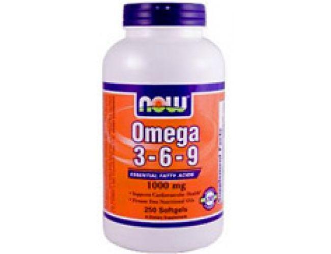 Now Foods Omega 3-6-9 1000mg 100 Gels