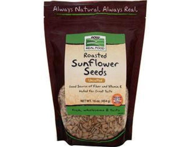 Now Foods Roasted, Salted Sunflower Seeds 16oz