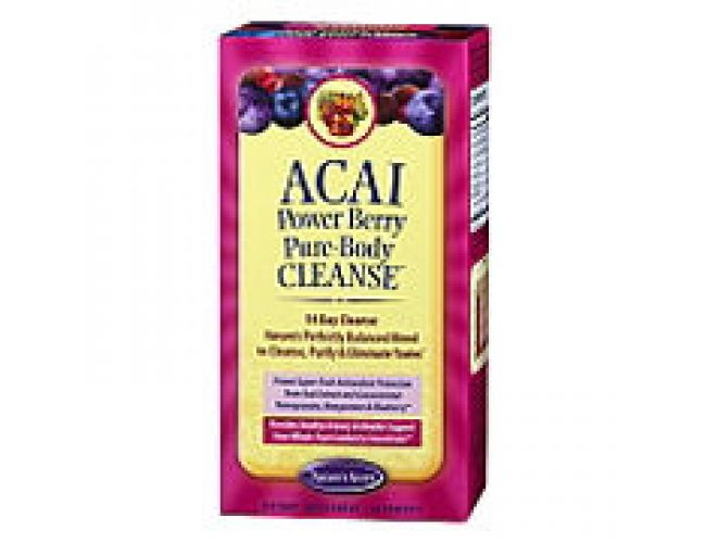 Nature's Secret Acai Power Berry Pure-Body Cleanse 56 Tabs