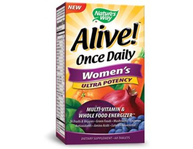Nature's Way Alive! Once Daily Women's 60 Tabs