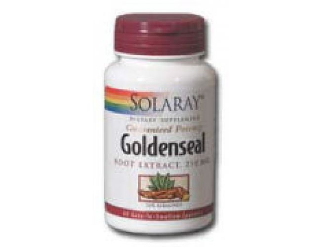 Solaray Goldenseal Root Extract 250mg 60 Caps
