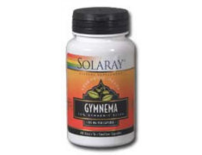 Solaray Gymnema Leaf Extract 385mg 60 Caps