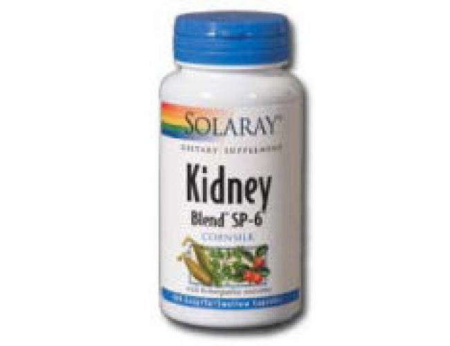 Solaray Kidney Blend SP-6 100 Caps