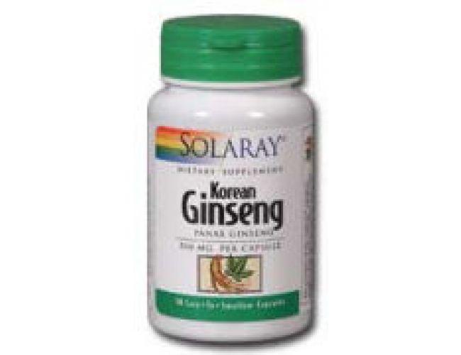 Solaray Korean Ginseng Root 535mg 60 caps