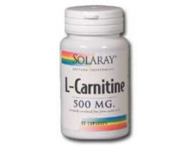 Solaray L-Carnitine 500mg 60 Caps