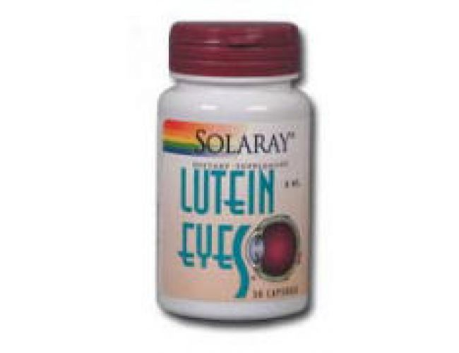 Solaray Lutein Eyes 6mg 60 Caps