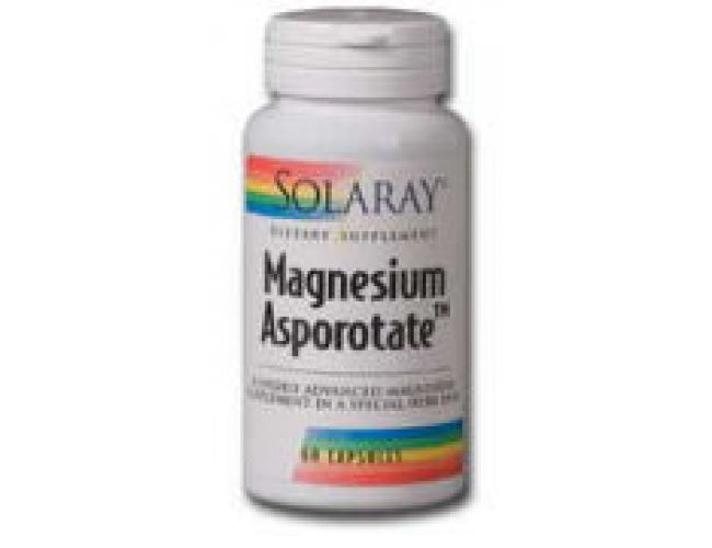 Solaray Magnesium Asporotate 200mg 120 Caps