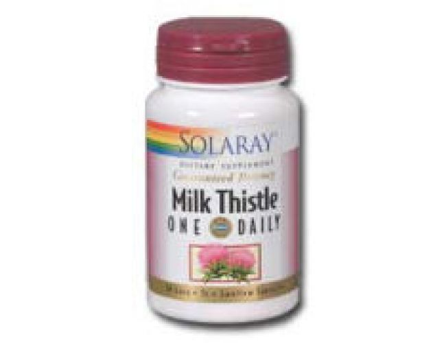 Solaray Milk Thistle One Daily 350mg 30 Caps