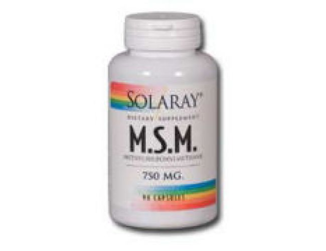 Solaray Pure MSM 1000mg 60 Caps
