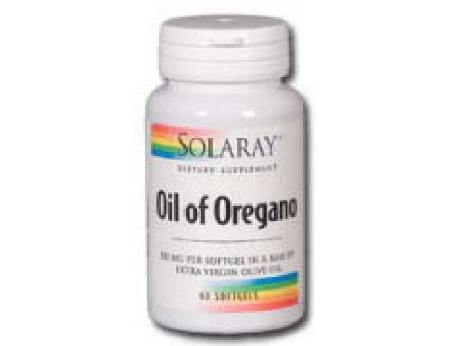 Solaray Oil of Oregano 150mg 60 Gels