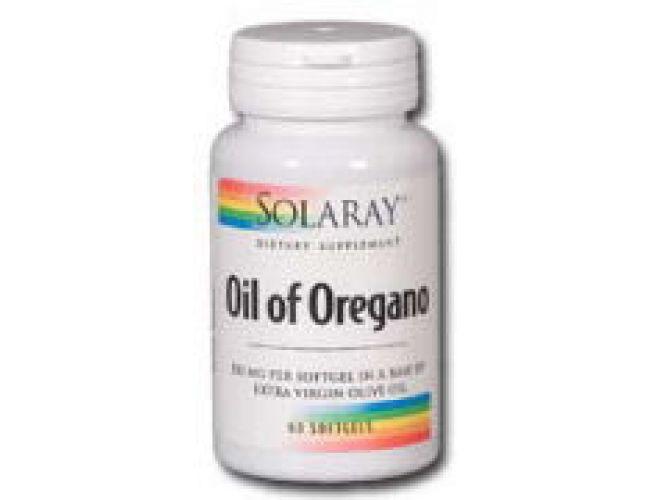 Solaray Oil of Oregano 150mg 60 Gels