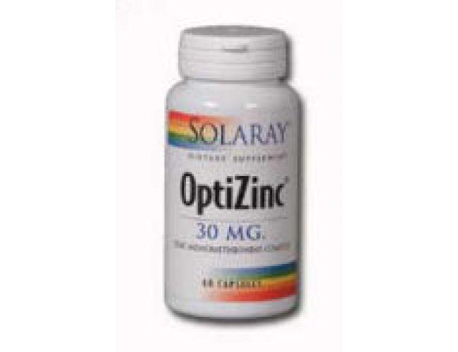 Solaray OptiZinc 30mg 60 Caps