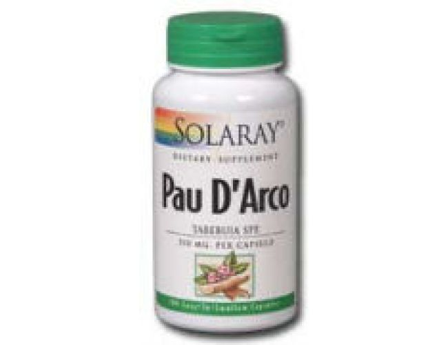 Solaray Pau D'Arco Inner Bark 510mg 100 Caps