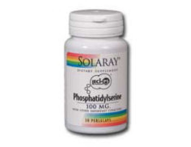 Solaray Phosphatidylserine Complex 30 Softgels