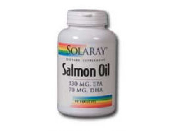 Solaray Salmon Oil 90 Softgels