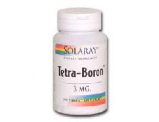 Solaray Tetra-Boron 3mg 100 Tabs