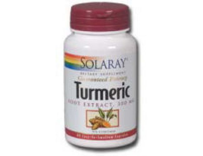 Solaray Turmeric Root Extract 300mg 60 Caps