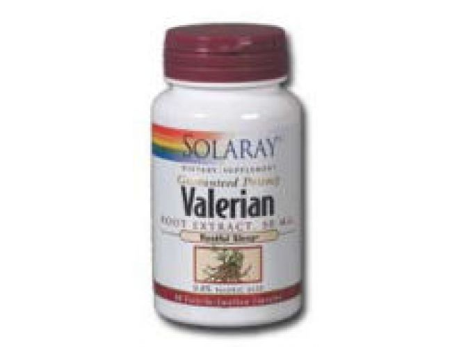 Solaray Valerian Root Extract 50mg 60 Caps