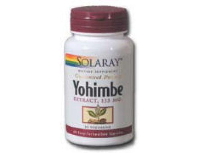 Solaray Yohimbe Extract 135mg 60 Caps