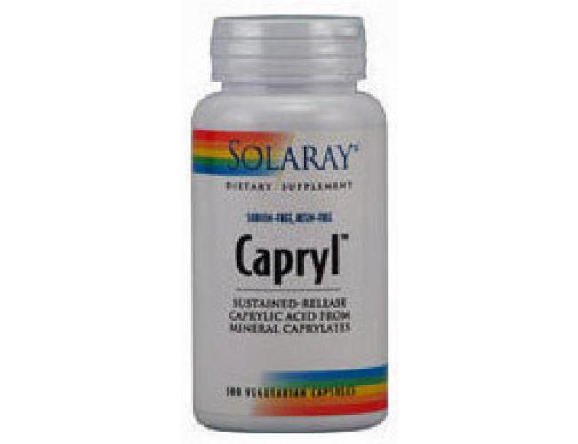 Solaray Capryl Sodium Resin Free 100 Caps