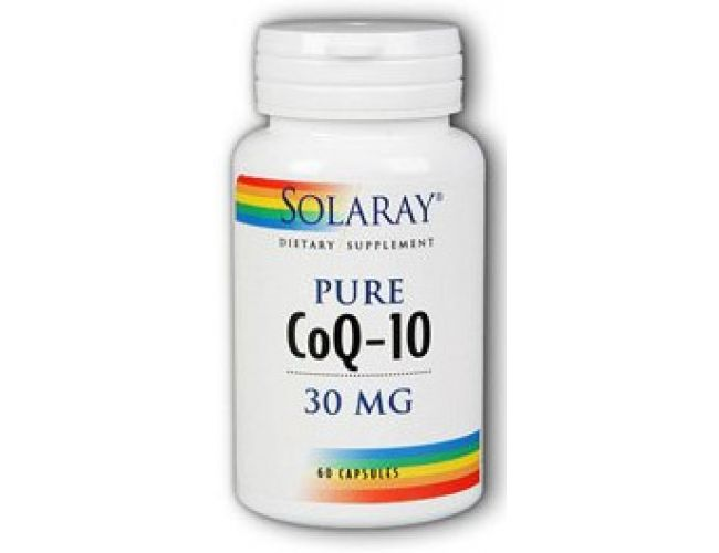 Solaray CoQ-10 30mg 60 Caps