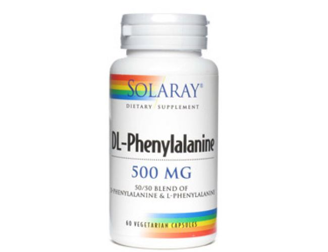 Solaray DL-Phenylalanine 500mg 60 Caps