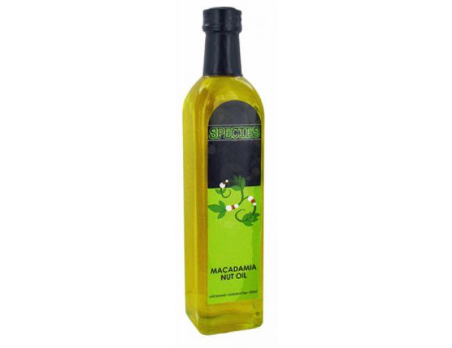 Macadamia nut oil nutrition